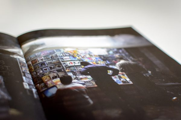 An image showing a preview of blume magazine Issue 000