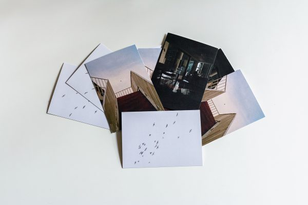 Product image of a postcard printed by blume magazine.