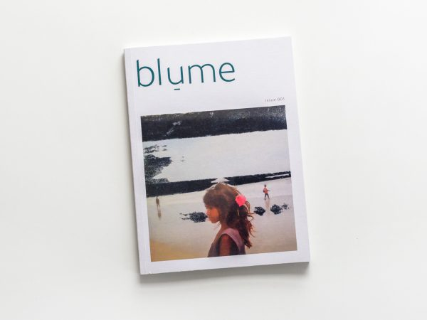 A copy of blume magazine Issue 001, featuring contemporary photography from around the world.